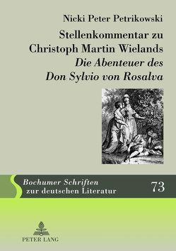 Stellenkommentar zu Christoph Martin Wielands «Die Abenteuer des Don Sylvio von Rosalva» von Petrikowski,  Nicki Peter
