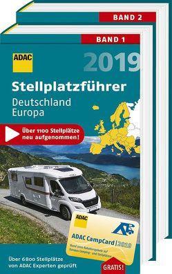 Stellplatzführer Deutschland/Europa / ADAC Stellplatzführer Deutschland und Europa 2019