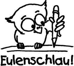 "Stempel ""Eulenschlau!"""