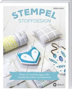 Stempel-Stoffdesign von Shah,  Zeena