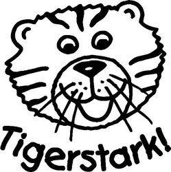 """Stempel """"Tigerstark!"""""""