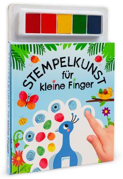 Stempelkunst für kleine Finger von Boehm,  Stefanie, Hinkler