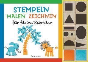 Stempeln, malen, zeichnen-Set von Pautner,  Norbert