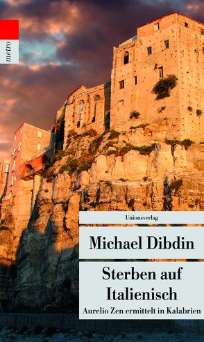 Sterben auf Italienisch von Dibdin,  Michael, Schlootz,  Ellen