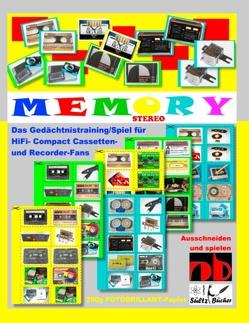 STEREO MEMORY – Das Gedächtnistraining/Spiel für HiFi- Compact Cassetten- und Recorder-Fans von Sültz,  Renate, Sültz,  Uwe H.