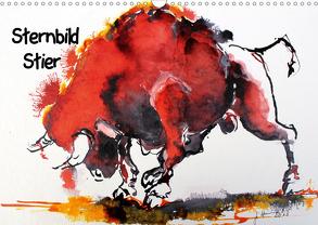 Sternbild Stier (Wandkalender 2020 DIN A3 quer) von Harmgart,  Sigrid