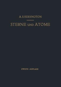 Sterne und Atome von Bollnow,  O.F., Eddington,  Arthur Stanley