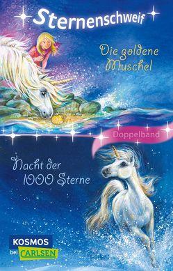 Sternenschweif: Die goldene Muschel / Nacht der 1000 Sterne (Doppelband) von Chapman,  Linda, Hull,  Biz, Schaub,  Bettina
