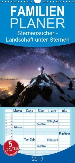 Sternensucher – Landschaft unter Sternen – Familienplaner hoch (Wandkalender 2019 <strong>21 cm x 45 cm</strong> hoch) von Nicholas Roemmelt,  Dr.