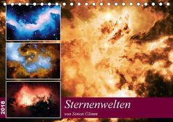 Sternenwelten (Tischkalender 2018 DIN A5 quer) von Glimm,  Simon