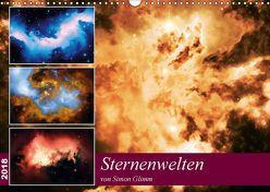 Sternenwelten (Wandkalender 2018 DIN A3 quer) von Glimm,  Simon