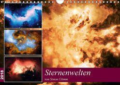 Sternenwelten (Wandkalender 2018 DIN A4 quer) von Glimm,  Simon