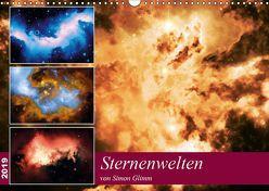 Sternenwelten (Wandkalender 2019 DIN A3 quer) von Glimm,  Simon