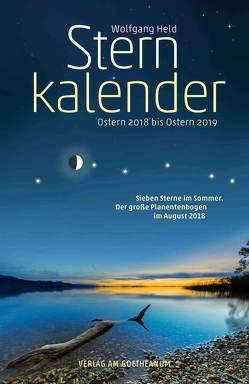 Sternkalender Ostern 2018 bis Ostern 2019 von Held,  Wolfgang, Mecozzi,  Karin