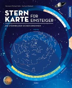 Sternkarte für Einsteiger von Hahn,  Hermann-Michael, Weiland,  Gerhard