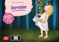 Sterntaler. Kamishibai Bildkartenset. von Bohnstedt,  Antje, Grimm Brüder, Klement,  Simone