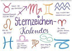 Sternzeichen-Kalender (Wandkalender 2019 DIN A2 quer) von Kleinhans - Kritzelfee,  Martje