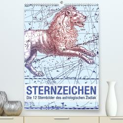 Sternzeichen (Premium, hochwertiger DIN A2 Wandkalender 2021, Kunstdruck in Hochglanz) von bilwissedition.com Layout: Babette Reek,  Bilder: