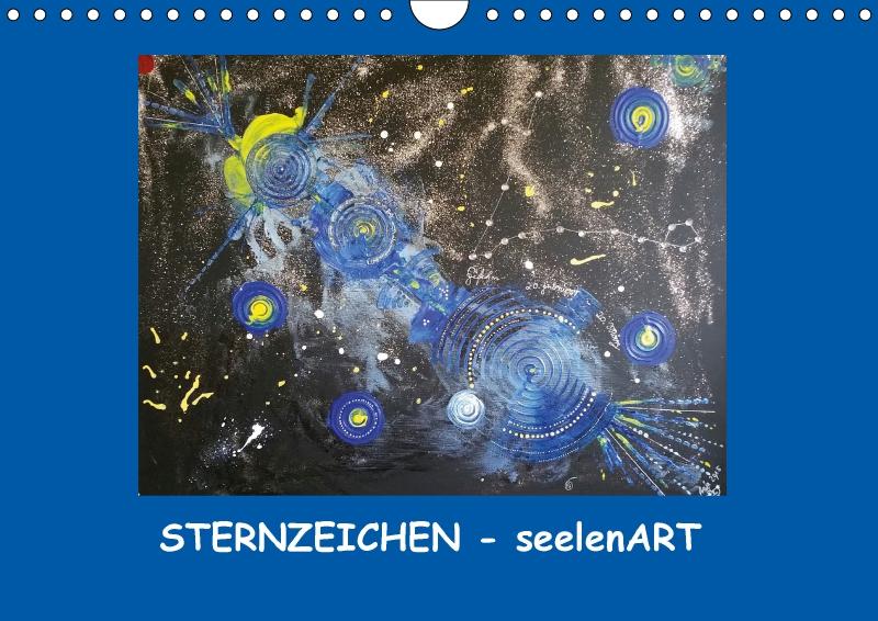 Sternzeichen seelenart wandkalender 2018 din a4 quer - Klebefliesen ka chenwand ...