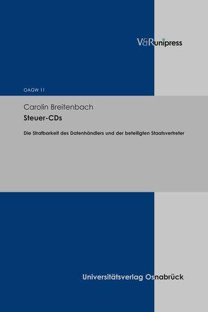 Steuer-CDs von Breitenbach,  Carolin
