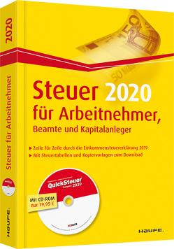 Steuer für Arbeitnehmer, Beamte und Kapitalanleger plus CD von Dittmann,  Willi, Haderer,  Dieter, Happe,  Rüdiger