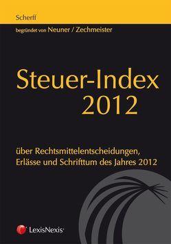 Steuer-Index 2012 von Scherff,  Dietrich
