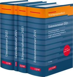 Steuer-Paket 2021: Ertragsteuern und Umsatzsteuer von Boveleth,  Karl-Heinz, Brandenberg,  Hermann, Lennartz,  Manfred, Schmitz,  Georg, Stephan,  Filtziger, Thorsten,  Kontny, Widmann,  Werner