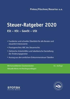 Steuer-Ratgeber 2020 von Henseler,  Frank, Pinkos,  Erich, Püschner,  Wolfgang