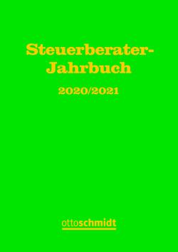 Steuerberater-Jahrbuch 2020/2021 von Fachinstitut der Steuerberater