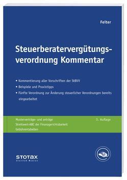 Steuerberatervergütungsverordnung Kommentar von Feiter,  Gregor