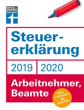 Steuererklärung 2019/2020 – Arbeitnehmer, Beamte von Fröhlich,  Hans W., Rauhöft,  Angela