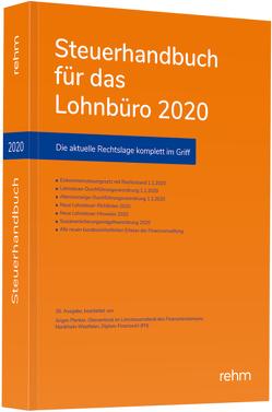 Steuerhandbuch für das Lohnbüro 2020 von Plenker,  Jürgen