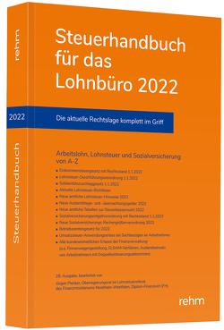Steuerhandbuch für das Lohnbüro 2022 von Plenker,  Jürgen