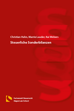 Steuerliche Sonderbilanzen von Hahn,  Christian, Lauder,  Marrie, Webers,  Kai