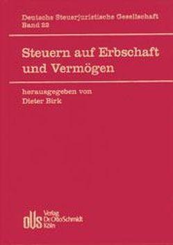Steuern auf Erbschaft und Vermögen von Arndt,  Hans W, Birk,  Dieter, Crezelius,  Georg, Lang,  Joachim, Meincke,  Jens, Mellinghoff,  Rudolf, Osterloh,  Lerke
