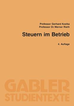 Steuern im Betrieb von Kostka,  Gerhard