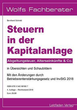 Steuern in der Kapitalanlage von Schmid,  Bernhard