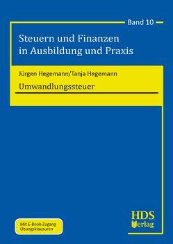 Umwandlungssteuer von Hegemann,  Jürgen, Hegemann,  Tanja