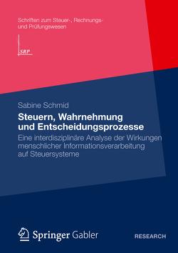 Steuern, Wahrnehmung und Entscheidungsprozesse von Schmid,  Sabine