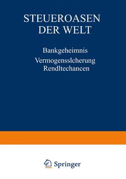 Steueroasen der Welt von Winteler,  Ernst-Uwe