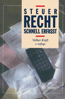 Steuerrecht von Kreft,  Volker, Steitz,  S.