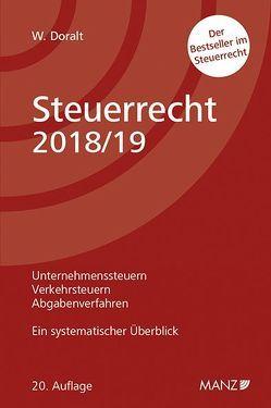 Steuerrecht 2018/19 von Doralt,  Werner