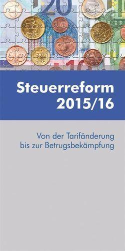 Steuerreform 2015/16 von Puchinger,  Martin