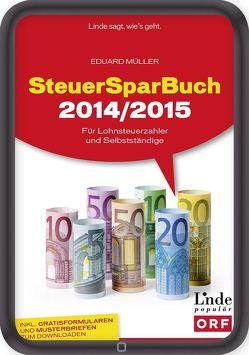 SteuerSparBuch 2014/2015 von Müller,  Eduard