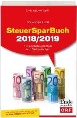 SteuerSparBuch 2018/2019 von Müller,  Eduard
