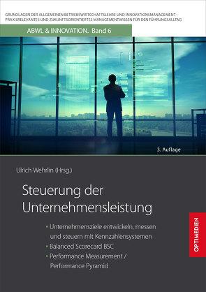Steuerung der Unternehmensleistung von Prof. Dr. Dr. h.c. Wehrlin,  Ulrich
