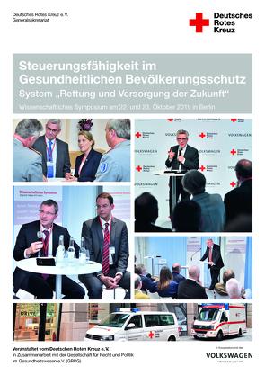 Steuerungsfähigkeit im Gesundheitlichen Bevölkerungsschutz von Deutsches Rotes Kreuz e.V. Berlin