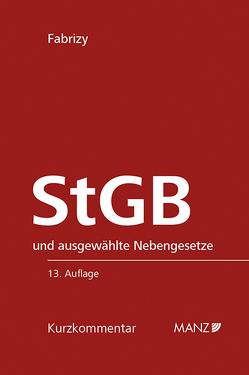 StGB Strafgesetzbuch von Fabrizy,  Ernst E