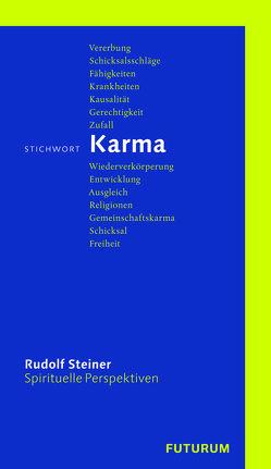 Stichwort Karma von Stauffer,  Hans, Steiner,  Rudolf