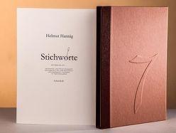 Stichworte von Hannig,  Helmut